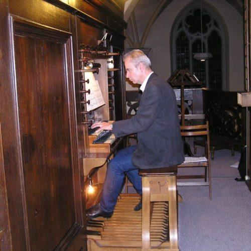 Organist Marcel Verheggen