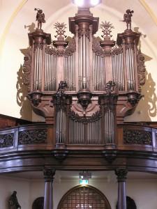 Orgelaanzicht 2013
